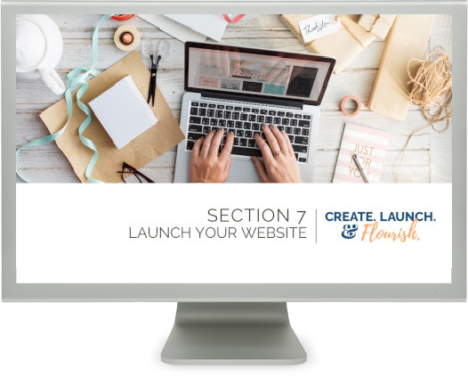 Launch a standalone website for your handmade business